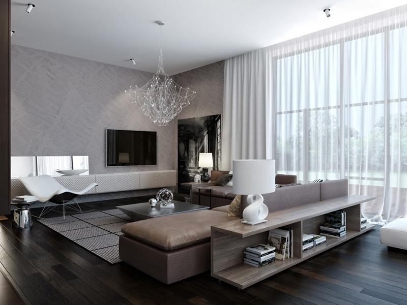 Sự sang trọng của màu đen trong thiết kế nội thất 2