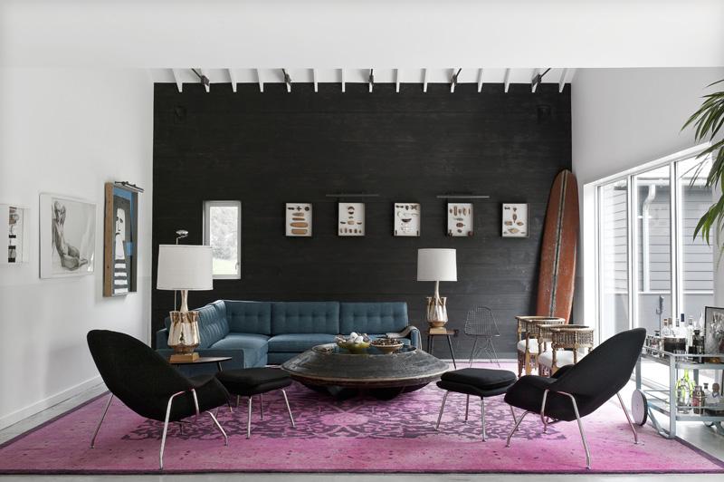 Sự sang trọng của màu đen trong thiết kế nội thất 3