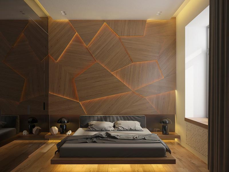 Mãn nhãn với 3 cách thiết kế nội thất phòng ngủ lấy cảm hứng từ gỗ 1