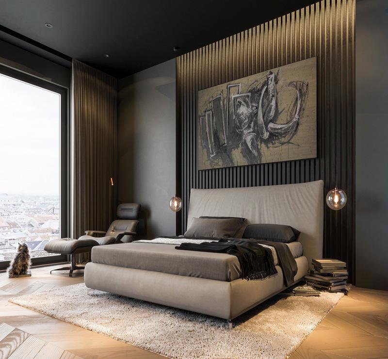 Mãn nhãn với 3 cách thiết kế nội thất phòng ngủ lấy cảm hứng từ gỗ 10