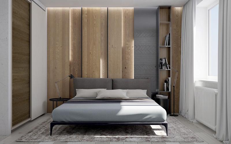 Mãn nhãn với 3 cách thiết kế nội thất phòng ngủ lấy cảm hứng từ gỗ 2