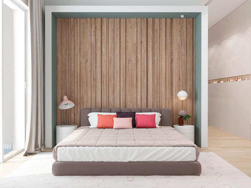 Mãn nhãn với 3 cách thiết kế nội thất phòng ngủ lấy cảm hứng từ gỗ 3