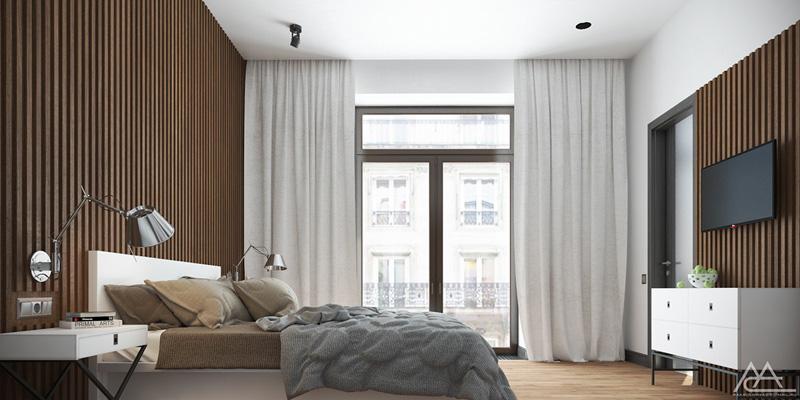 Mãn nhãn với 3 cách thiết kế nội thất phòng ngủ lấy cảm hứng từ gỗ 5