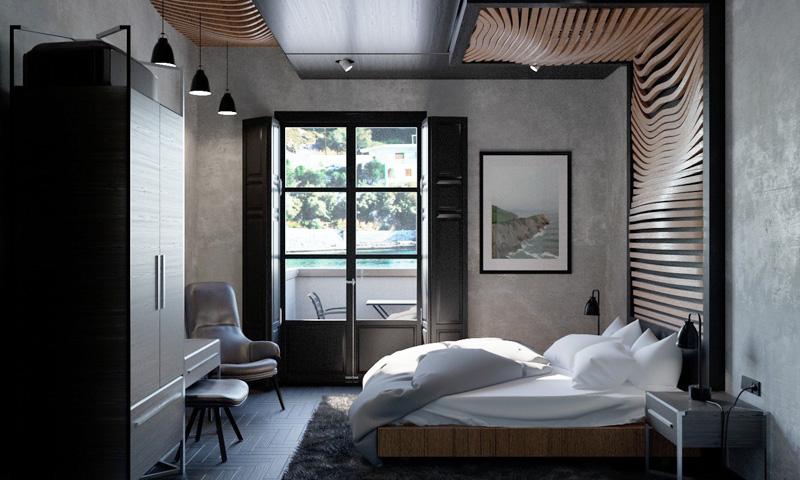 Mãn nhãn với 3 cách thiết kế nội thất phòng ngủ lấy cảm hứng từ gỗ 6