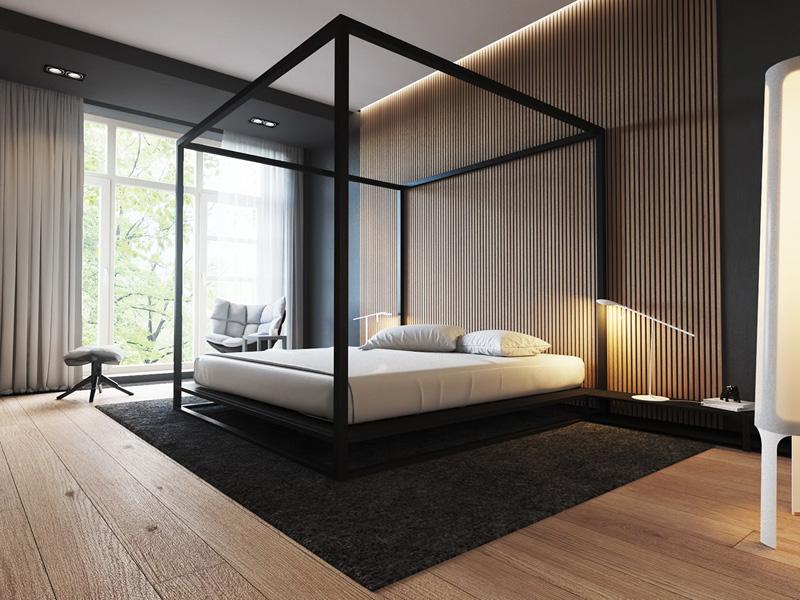 Mãn nhãn với 3 cách thiết kế nội thất phòng ngủ lấy cảm hứng từ gỗ 7