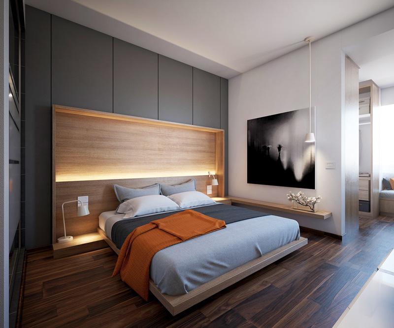 Mãn nhãn với 3 cách thiết kế nội thất phòng ngủ lấy cảm hứng từ gỗ 9