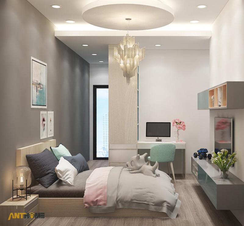Thiết kế nội thất căn hộ The Botanica 72m2 10