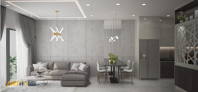 Thiết kế nội thất căn hộ The Botanica 72m2 2