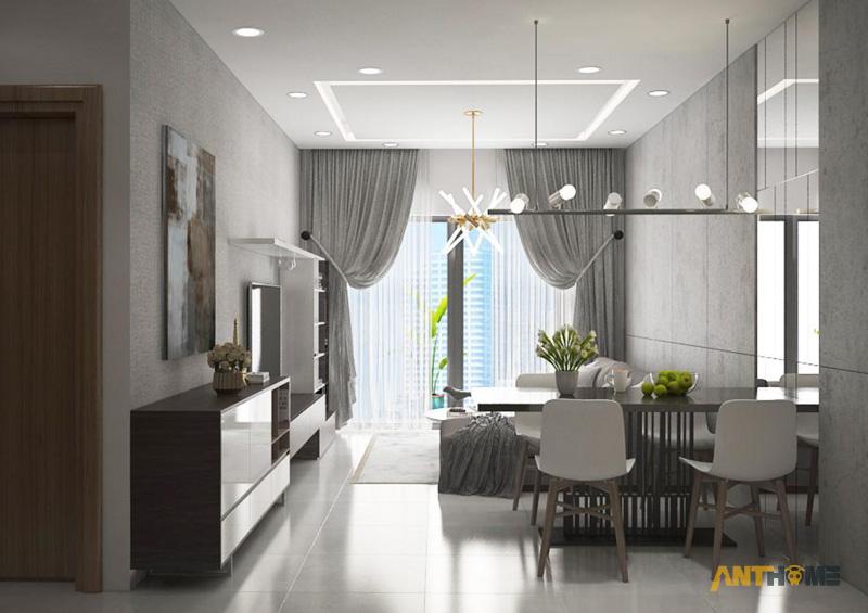Thiết kế nội thất căn hộ The Botanica 72m2 3