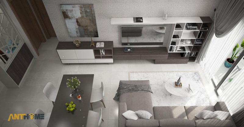 Thiết kế nội thất căn hộ The Botanica 72m2 5