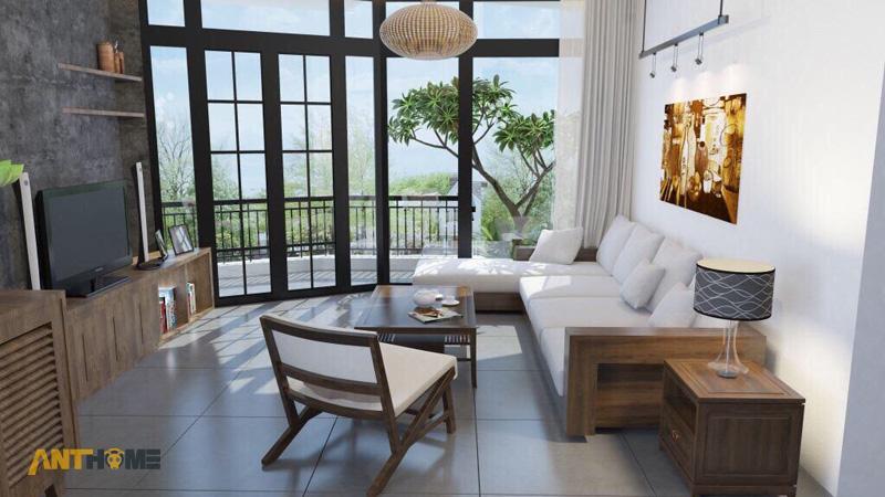 Thiết kế nội thất nhà phố đẹp Đà Lạt 100m2 1
