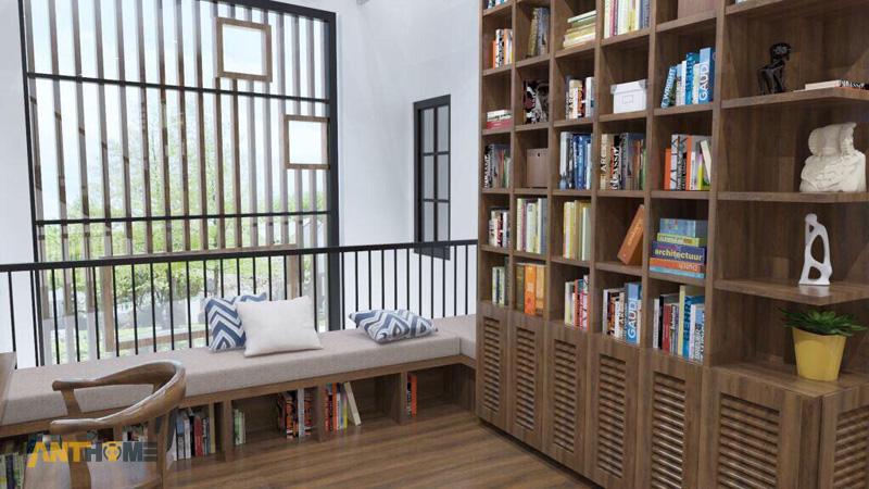 Thiết kế nội thất nhà phố đẹp Đà Lạt 100m2 10