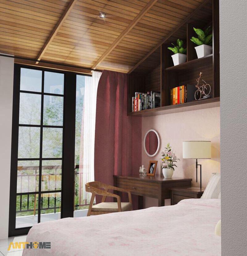 Thiết kế nội thất nhà phố đẹp Đà Lạt 100m2 12