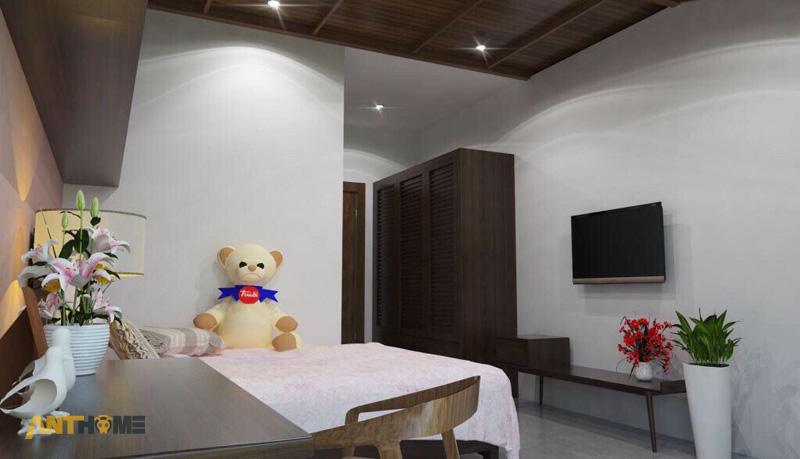 Thiết kế nội thất nhà phố đẹp Đà Lạt 100m2 13