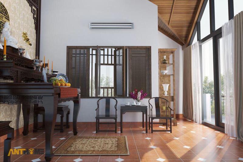 Thiết kế nội thất nhà phố đẹp Đà Lạt 100m2 19