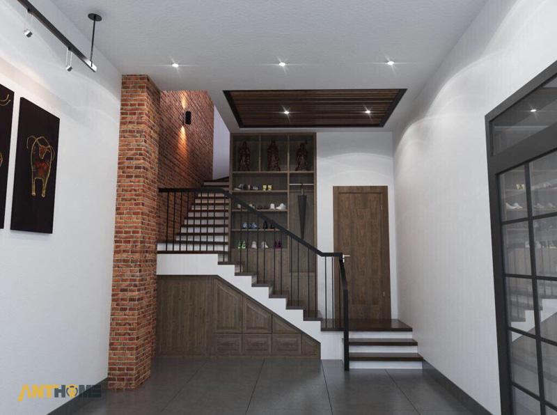 Thiết kế nội thất nhà phố đẹp Đà Lạt 100m2 5
