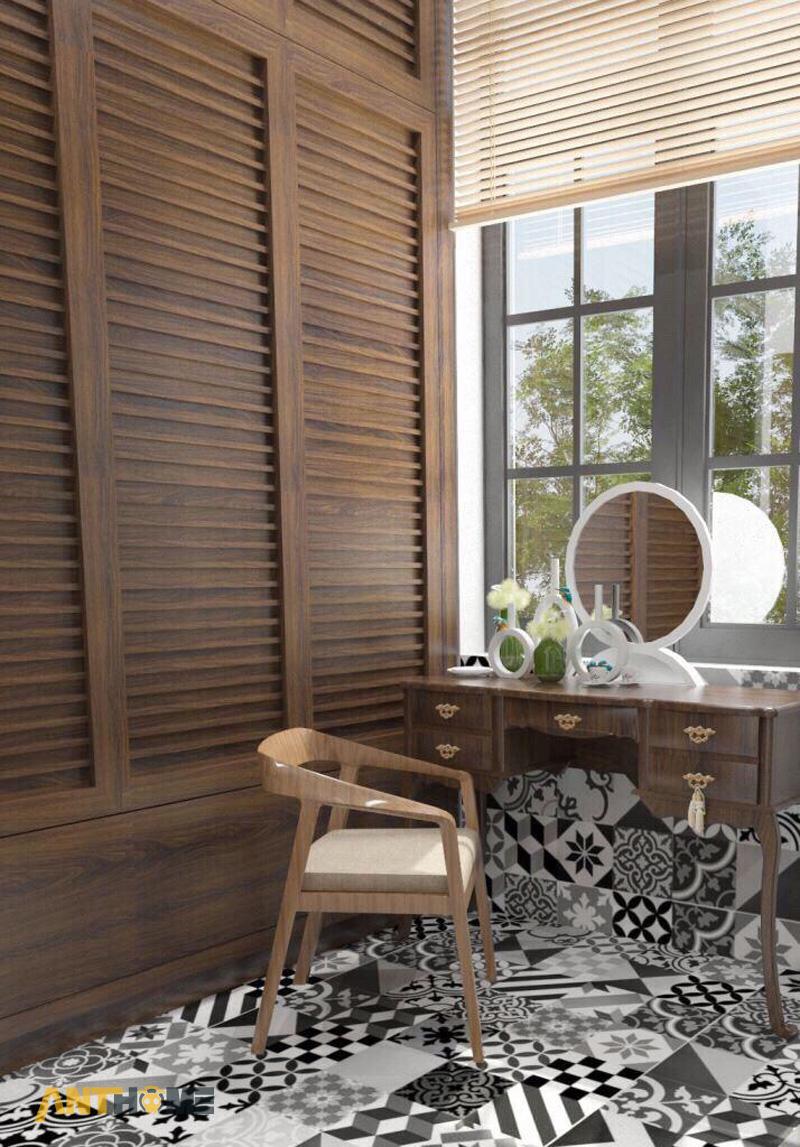 Thiết kế nội thất nhà phố đẹp Đà Lạt 100m2 9